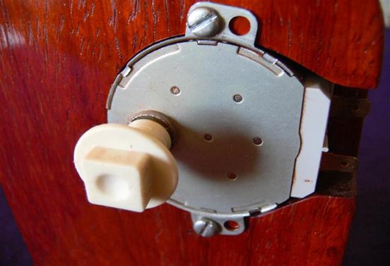 Imagem mostra o motor usado neste projeto